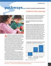 Credit for Prior Learning Brief