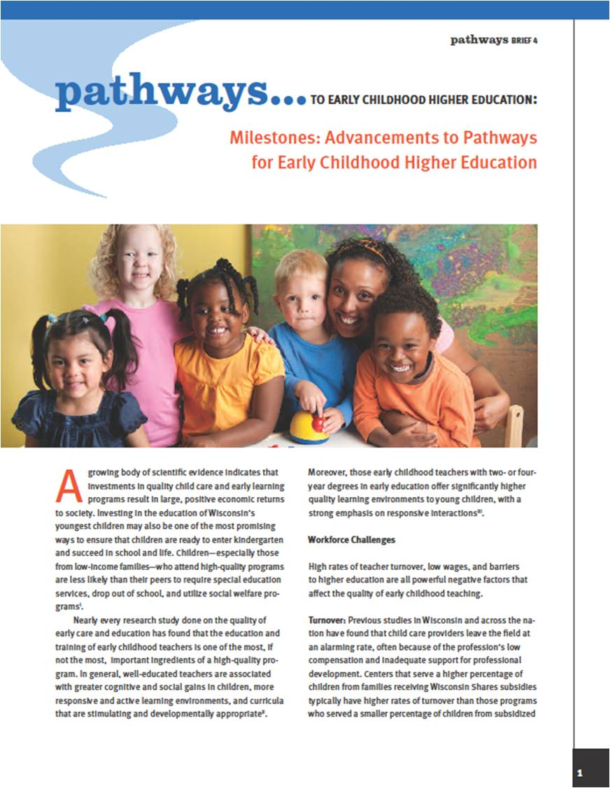 early childhood education and children essay