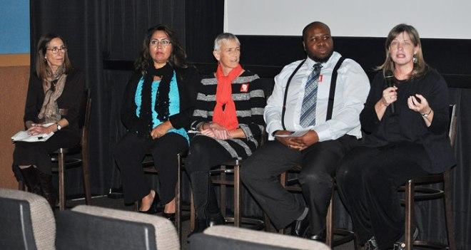 Raising of America panel