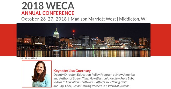 2018 WECA Annual Conference Save the Date