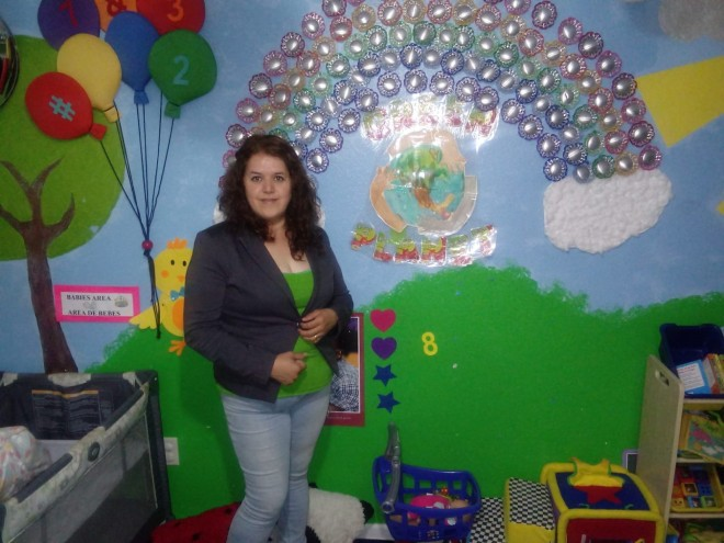 Maria Hernandez, owner of Green Planet's Daycare